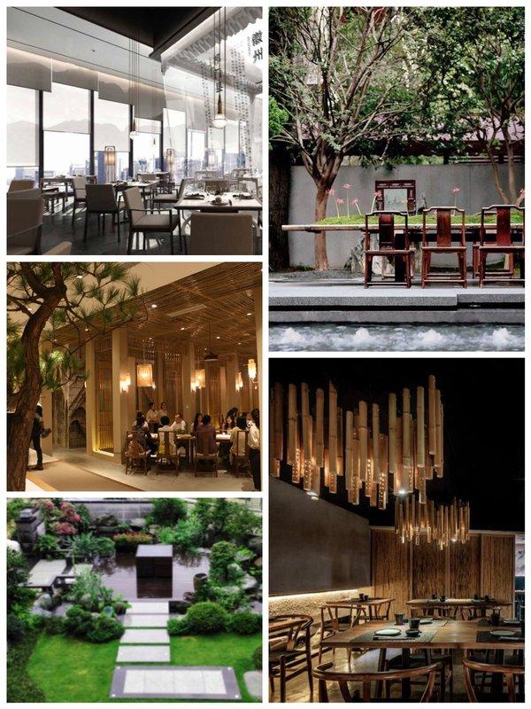 """设计专家进行了自我介绍,并发表了对于参加6月""""国人餐饮空间美学趋势"""