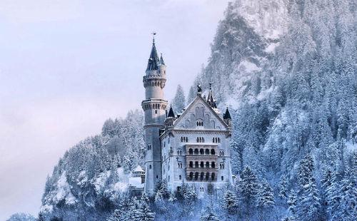 新天鹅堡,慕尼黑,德国慕尼黑,德国新天鹅堡旅游攻略景点 位置 交通